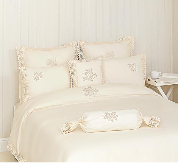 Постельное белье 1.5 спальное Luxberry Rose шампань