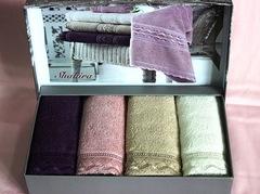 Набор полотенец SHAKIRA - ШАКИРА в размере 30*50  / Maison Dor (Турция)