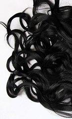 Накладка Magic Strands. Длина 52 см -Оттенок #1-натуральный черный(волны)