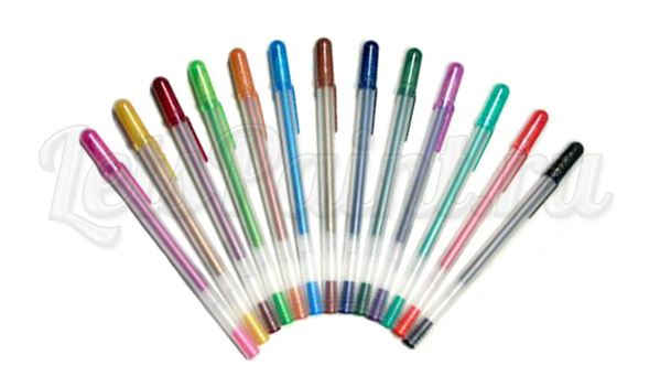Декоративная ручка METALLIC GELPEN, 1шт