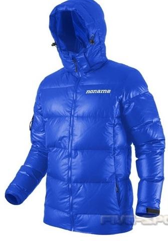 Куртка пуховая Noname Heavy down унисекс (blue)