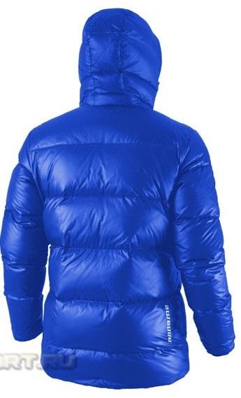 Куртка пуховая Noname Heavy down, синяя