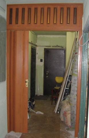 Фото раздвижной двери гармошка