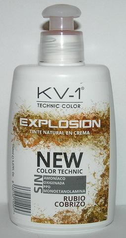 Tinte  Explosion Rubio Cobrizo- тонирующая маска для волос. Глубокий яркий медный блондин