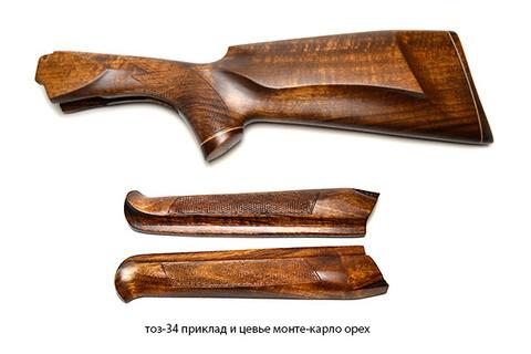 тоз-34 приклад и цевье монте-карло орех
