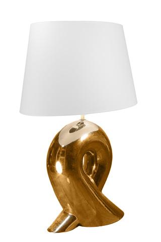 Элитная лампа настольная Ильяву золотая от Sporvil