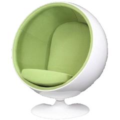 кресло шар ball chair салатовое