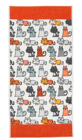 Полотенце 37x50 Feiler Cats 167 zimt