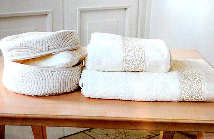 Наборы полотенец Набор полотенец 2 шт Timas Lumen слоновой кости nabor-polotenec-Lumen-ot-Timas.jpg