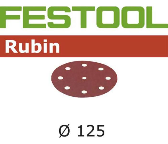 Материал шлифовальный STF D125/90 P180 RU2/50 Festool 499099