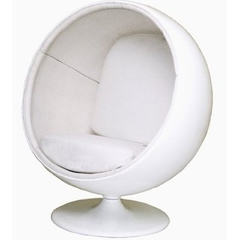 кресло шар ball chair белое