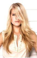 Набор 8 прядей, Блонд+молочный шоколад.Модный вариант покраски OMBRE HAIR