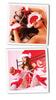 Эротический костюм для женщины: колпак Санты, наручники, наножники и маска