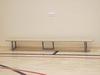 Скамейка гимнастическая на металлических ножках 2.5м (массив дерева)