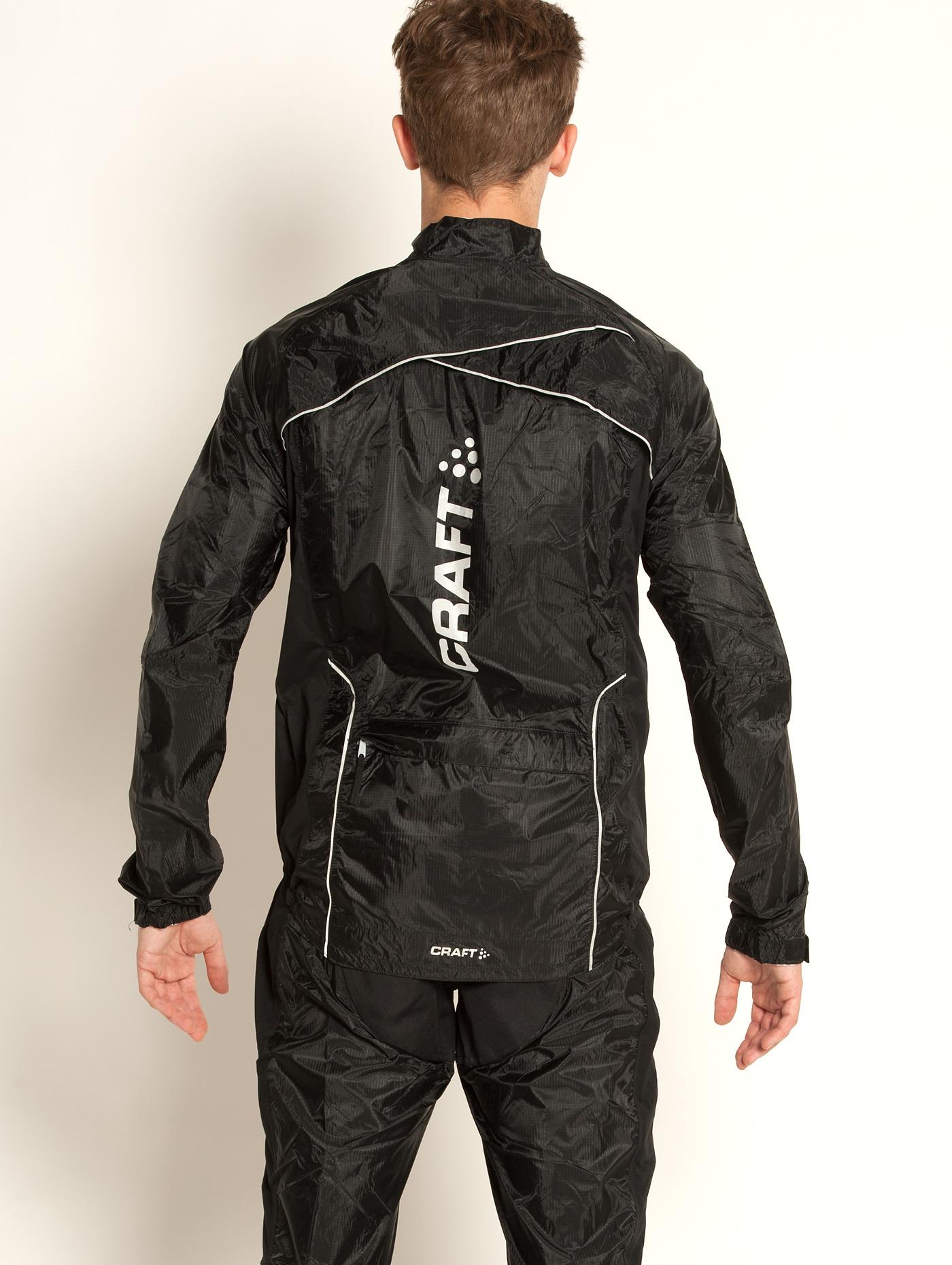 Велокуртка Craft Performance Rain мужская черная