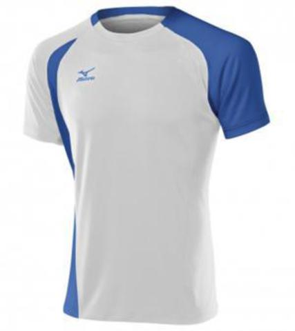 Mizuno Trade Top 351 футболка волейбольная мужская white\blue