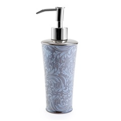 Дозатор для жидкого мыла Kassatex Bedminster Scroll Flint Grey
