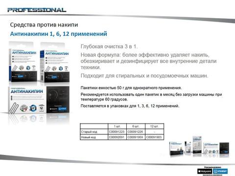 Антинакипин для стиральной машины 1 прим. по 50 гр. - 092091