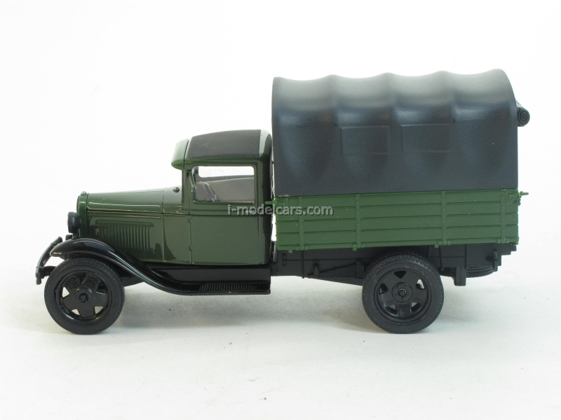 GAZ-AA with awning green-black 1:43 Nash Avtoprom
