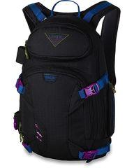 Рюкзак для сноуборда женский Dakine Heli Pro Dlx 18L Black Ripstop