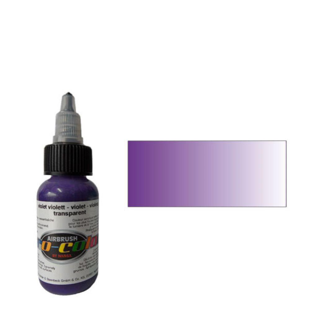 64074 Краска для аэрографии Pro-Color Violet (ФИОЛЕТОВЫЙ) 30мл. прозрачный