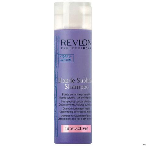 Revlon Professional Blonde Sublime - Шампунь увлажняющий для защиты блондированных волос