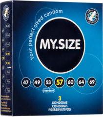 Презервативы MY.SIZE №3 размер 57