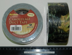 Камуфляжная лента многоразовая Allen (листва) 18 м. A 43