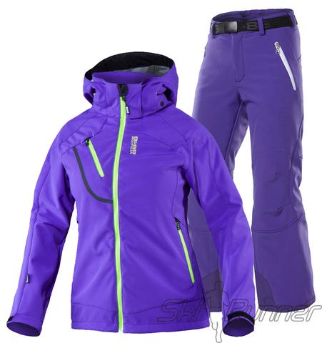 Лыжный утепленный костюм 8848 Altitude Mica Wilbur Purple женский
