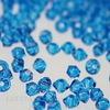 5328 Бусина - биконус Сваровски Capri Blue 3 мм, 10 штук ()