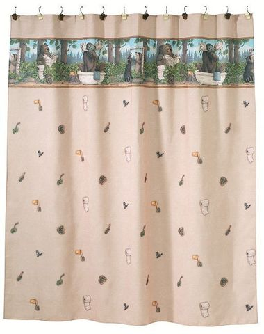Элитная шторка для ванной Taking Care of Business слоновая кость от Avanti