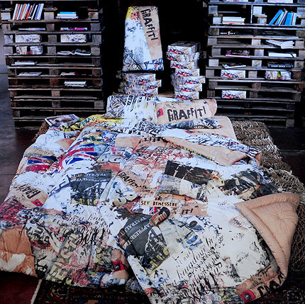 Комплекты постельного белья Постельное белье 2 спальное евро Besana Graffiti 1graffiti_1_.jpg