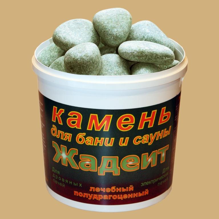 Камень жадеит шлифованный 5 кг, фото 1
