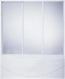 Шторка на ванну BAS 160 см стекло