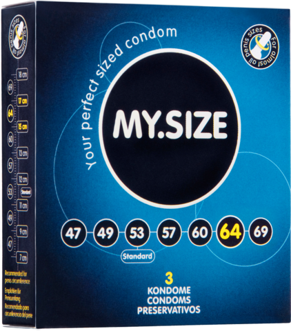 Презервативы MY.SIZE №3 размер 64