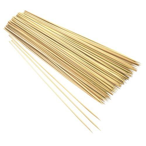 Палочки для декора, бамбук, 25 см, 100 шт.