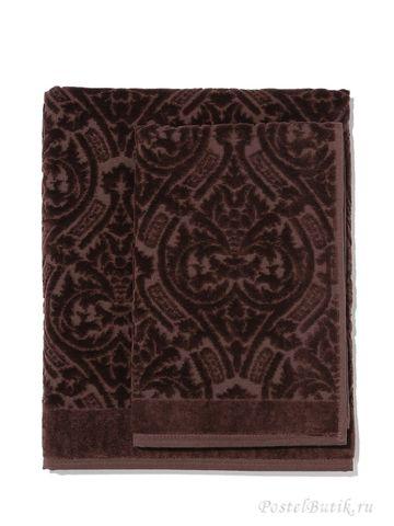 Набор полотенец 2 шт Roberto Cavalli Damasco коричневый