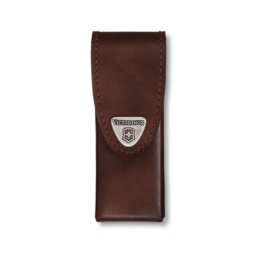 Чехол кожаный коричневый (шт.) 4.0832.L, для Swiss Tools Spirit