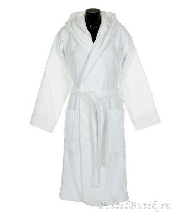 Халаты Халат велюровый с капюшоном Roberto Cavalli Logo белый elitniy-halat-logo-beliy-ot-roberto-cavalli-italiya.jpg