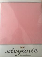 Простыня трикотажная 140-160x200 Elegante 8000 розовая