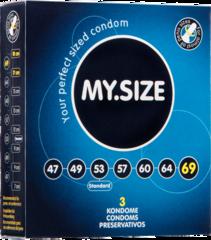 Презервативы MY.SIZE №3 размер 69