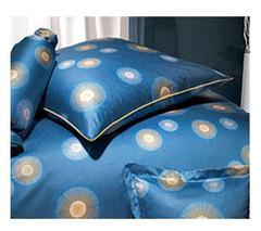 Элитная наволочка Cosmos синяя от Elegante