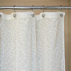 Элитная шторка для ванной 240х200 Embroidery 2555 от Arti-Deco