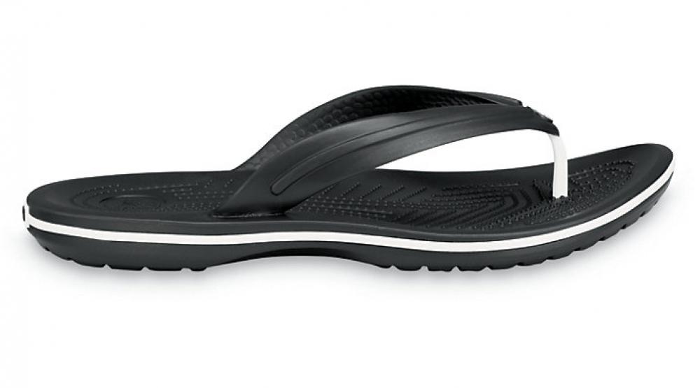 Летняя обувь - Вьетнамки Crocs Крокбенд Флип Блэк