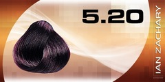 5.20 светлый насыщенный фиолетовый шатен IAN ZACHARY