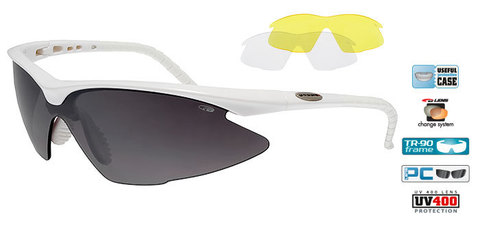 Солнцезащитные очки goggle BREND white