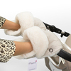 Муфта - рукавички Esspero Christer для коляски (Натуральная шерсть) Beige