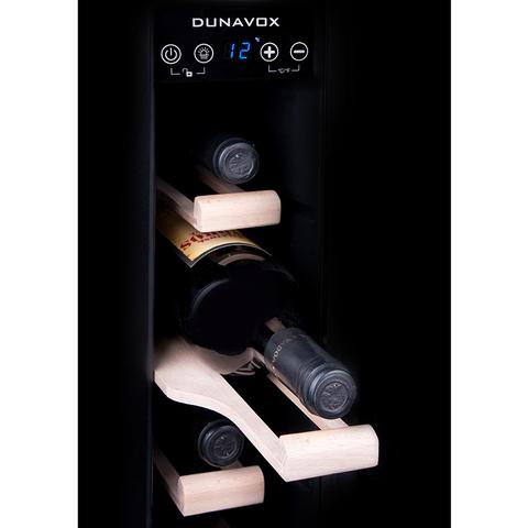 Винный шкаф Dunavox DX-7.22SSK