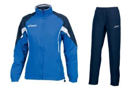 Женский спортивный костюм асикс SUIT AURORA синий (T654Z5 4350)