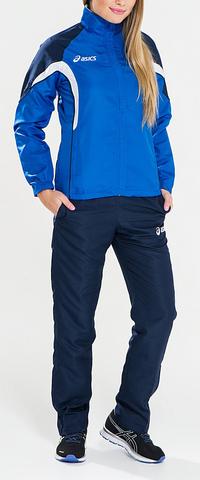 Женский спортивный костюм ASICS SUIT AURORA синий (T654Z5 4350)